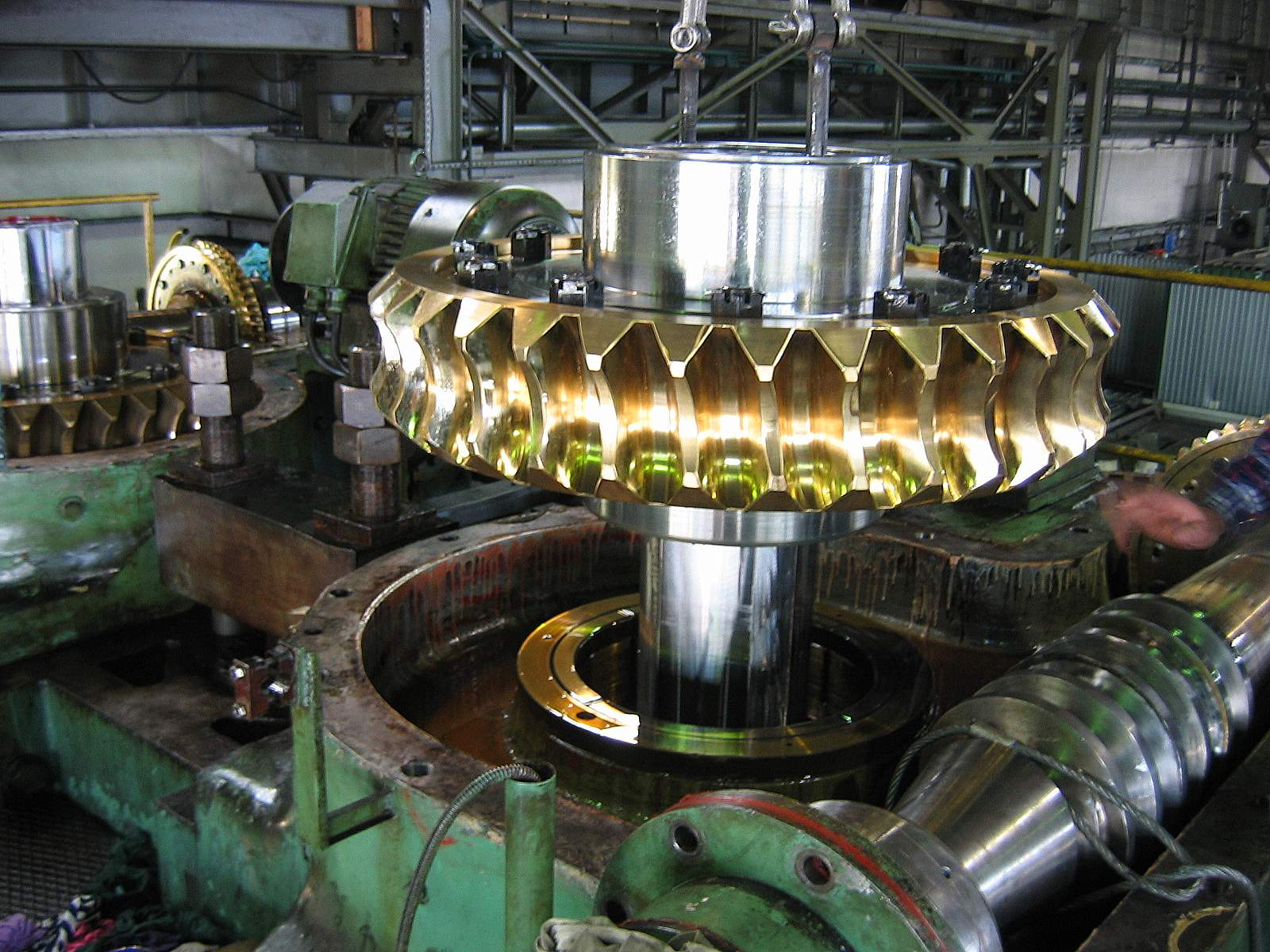 Wykonywanie części maszyn